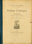 Le Roman Comique - Pochette des illustrations