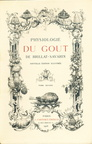 Physiologie du goût - Couverture tome second