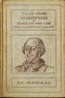 Couverture Tales from Shakespeare
